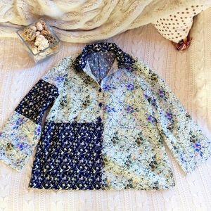 Tops - 💐 Floral Button down Shirt 💐